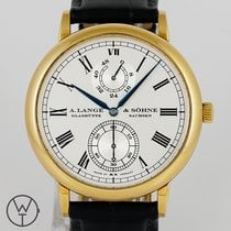 A. Lange & Söhne Yellow gold Automatic 41mm pre-owned Langematik