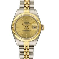 Rolex Lady-Datejust pre-owned 26mm Champagne Steel