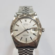 Rolex Datejust Turn-O-Graph Staal 36mm Zilver Geen cijfers