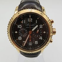 Breguet Rose gold Automatic Brown Arabic numerals 42mm pre-owned Type XX - XXI - XXII