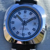 Lanco Steel 39mm Automatic pre-owned