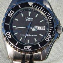 Lorus usado Quartzo 49mm Vidro mineral 20 ATM