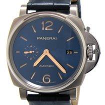 Panerai PAM00927 Panerai Luminor 2 Automatico Blu Titanio Titanium 2021 42mm new