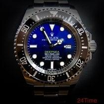 Rolex Sea-Dweller Deepsea Stahl 44mm Blau Keine Ziffern Schweiz, Morges