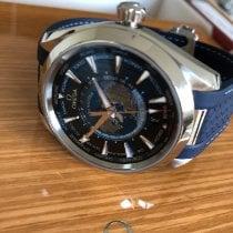 Omega Seamaster Aqua Terra Staal 43mm Blauw
