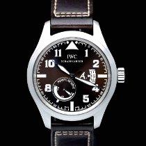 IWC Pilot Steel 44mm Brown Arabic numerals