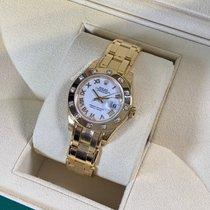 Rolex 80318 Gelbgold Lady-Datejust Pearlmaster 29mm neu