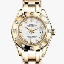 Rolex 80318 Yellow gold Lady-Datejust Pearlmaster 29mm new United States of America, New York, New York