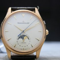 Jaeger-LeCoultre Master Ultra Thin Moon Oro rosa 39mm Champán Sin cifras
