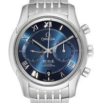 Omega De Ville Co-Axial nuevo Automático Cronógrafo Reloj con estuche original 431.10.42.51.03.001