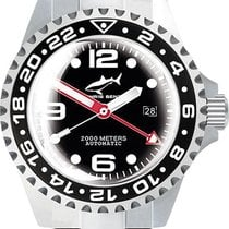 Chris Benz Steel Automatic 2000A-D3-MB new
