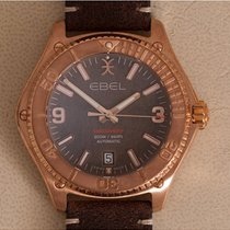 Ebel Discovery Bronze 41mm Brun Sans chiffres