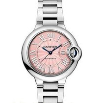Cartier Ballon Bleu 33mm new Automatic Watch with original box and original papers W6920100