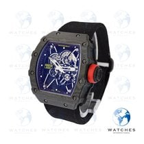 Richard Mille RM 035 RM35-01 Nadal Very good Carbon 49.94mm Manual winding