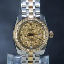 Tudor Classic Gold/Stahl 28mm Champagnerfarben Keine Ziffern