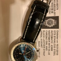 Breitling Navitimer 1 B01 Chronograph 43 Steel 43mm Blue No numerals United States of America, New York, Gloversville