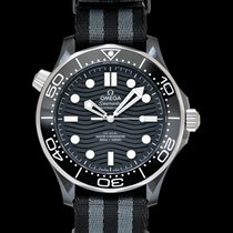 Omega Ceramic Automatic Black 43.5mm new Seamaster Diver 300 M