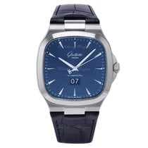 Glashütte Original Seventies Panorama Date Steel 40mm Blue United Kingdom, London