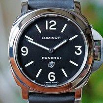Panerai Luminor Base Logo Steel 44mm Black Arabic numerals United States of America, Missouri, Chesterfield