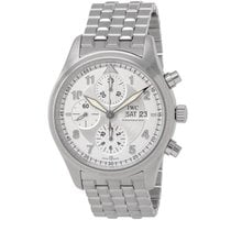 IWC Pilot Spitfire Chronograph Steel 42mm Silver Arabic numerals United States of America, New York, Hartsdale