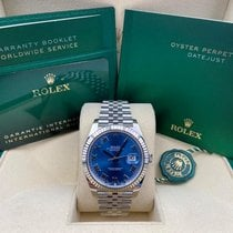 Rolex Datejust Gold/Steel 41mm Blue Roman numerals United States of America, New York, New York