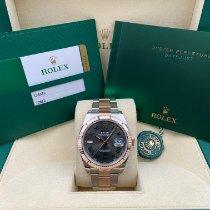 Rolex Datejust II Acero y oro 41mm Gris Romanos
