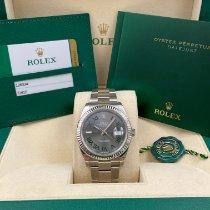 Rolex Datejust Steel 41mm Grey Roman numerals United States of America, New York, New York