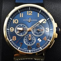 Ulysse Nardin Marine Chronograph new 2014 Automatic Chronograph Watch with original box and original papers 1506-150LE-3/63-VB