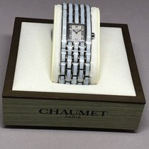 Chaumet new Quartz Gemstones and/or diamonds Only Original Parts Steel Sapphire crystal