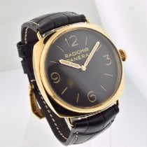 Panerai Special Editions Rose gold 47mm Brown Arabic numerals United States of America, California, Beverly Hills