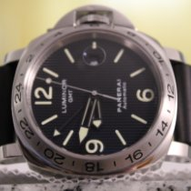 Panerai Special Editions Steel 44mm Black No numerals