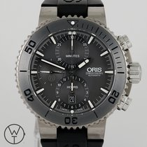 Oris Titanium Automatic Grey 46mm pre-owned Divers