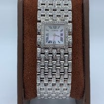 Cartier Or blanc Quartz Ruban large occasion France, Paris