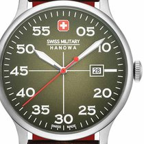 Swiss Military Stål 43mm Kvarts 06-4326.04.006 ny