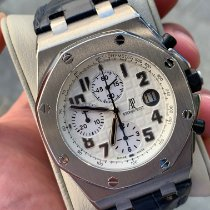 Audemars Piguet Royal Oak Offshore Chronograph pre-owned 42mm Champagne Chronograph Date Leather