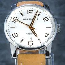 Montblanc Timewalker Staal 39mm Zilver Arabisch Nederland, 'S-Hertogenbosch
