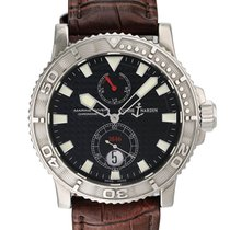 Ulysse Nardin Maxi Marine Diver Steel 42mm Black United States of America, New York, New York