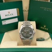 Rolex Datejust Steel 41mm Grey No numerals United States of America, New York, New York