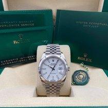 Rolex Datejust Steel 41mm White No numerals United States of America, New York, New York