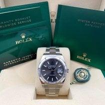 Rolex Datejust Steel 41mm Grey No numerals United States of America, New York, New York