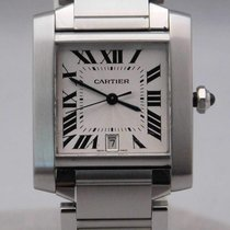 Cartier Tank Française Steel 28mm Silver United States of America, Michigan, Warren