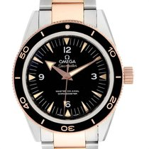 Omega Seamaster 300 Gold/Steel 41mm Black United States of America, Georgia, Atlanta