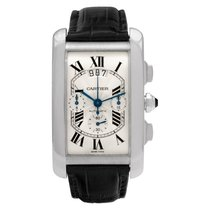 Cartier Tank Américaine White gold 31mm Silver Roman numerals United States of America, Florida, Surfside