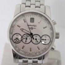 Eberhard & Co. Chrono 4 Steel 40mm Silver No numerals United States of America, New York, New York