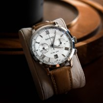 Eberhard & Co. Extra-Fort Steel 41mm Silver