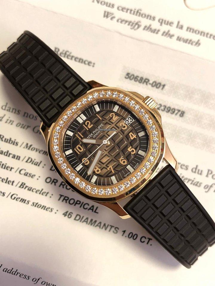 Patek Philippe Aquanaut 5068R-001 новые