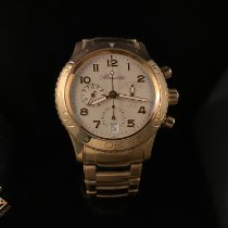 Breguet Yellow gold Automatic White Arabic numerals 39.5mm pre-owned Type XX - XXI - XXII