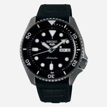 Seiko 5 Sports Steel 42mm Black No numerals