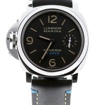 Panerai Luminor Marina 8 Days nieuw 2021 Handopwind Horloge met originele doos en originele papieren PAM00796