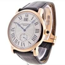 Cartier Rotgold Handaufzug Arabisch 42mm gebraucht Rotonde de Cartier